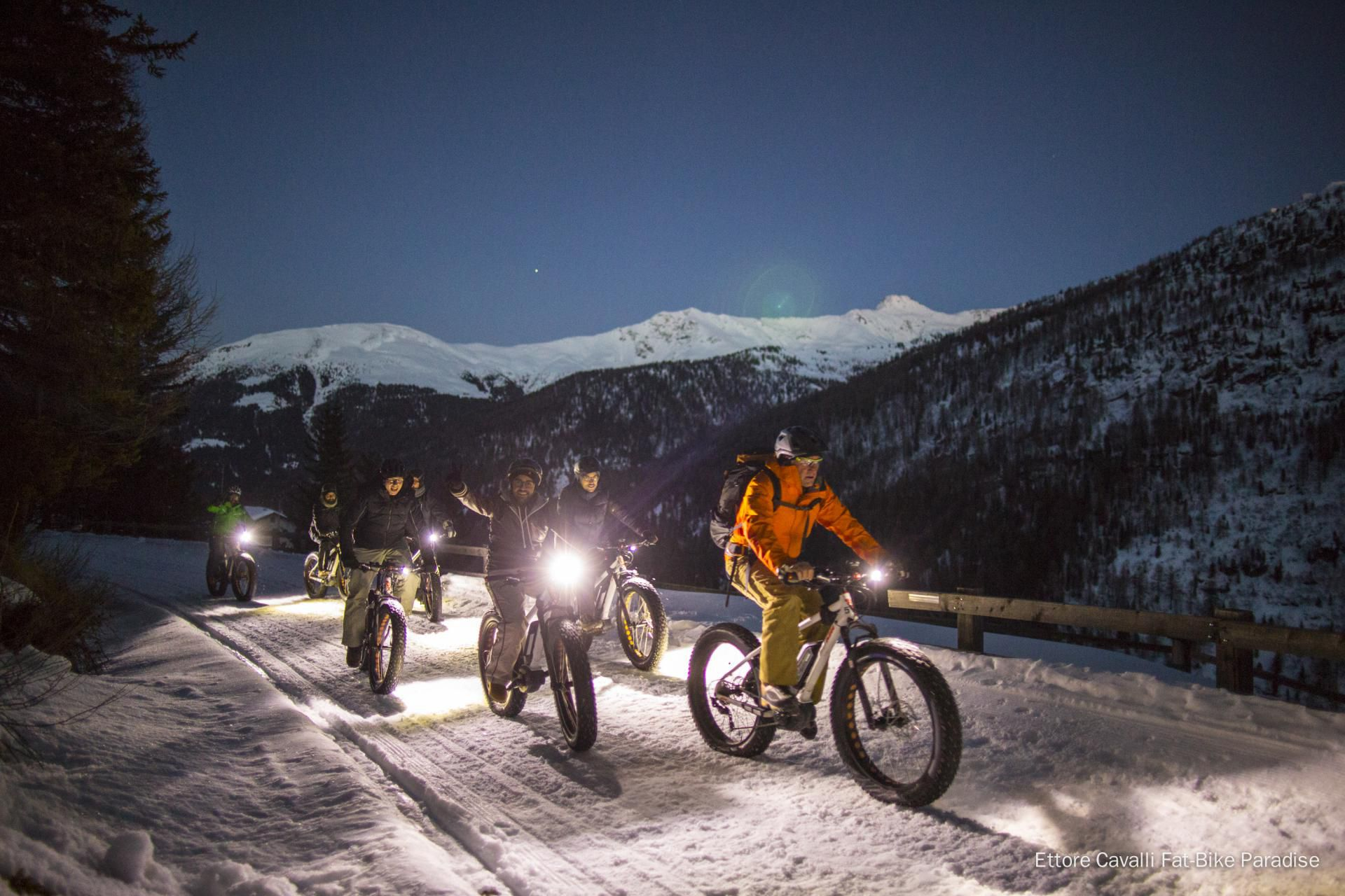 A Bormio con la fat bike